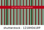 new year or christmas... | Shutterstock .eps vector #1218406189