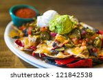 Nachos With Cheese  Guacamole ...