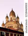 image of the distinctive vimana ... | Shutterstock . vector #1218460003