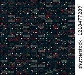 beautiful geometric pattern... | Shutterstock .eps vector #1218477289