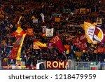 rome   oct 23  2018  ultras...   Shutterstock . vector #1218479959