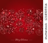 christmas background with... | Shutterstock .eps vector #1218505516