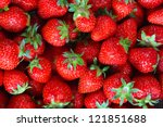 Fresh Ripe Perfect Strawberry ...