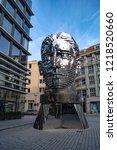 prague  czech republic  ... | Shutterstock . vector #1218520660