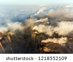 aerial view of power plant | Shutterstock . vector #1218552109