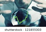 concept of forecasts of the... | Shutterstock . vector #121855303
