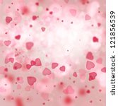 Valentine Background  Heart...