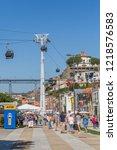porto  portugal   june 15 2018  ...   Shutterstock . vector #1218576583