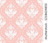 classic seamless vector pattern.... | Shutterstock .eps vector #1218624853