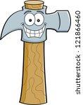 cartoon illustration of a... | Shutterstock .eps vector #121866460