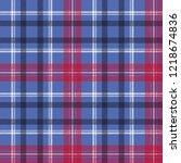tartan seamless pattern check... | Shutterstock .eps vector #1218674836
