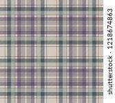 napkin check fabric texture... | Shutterstock .eps vector #1218674863