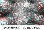glow light with decorative... | Shutterstock . vector #1218705403