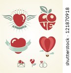 love | Shutterstock .eps vector #121870918