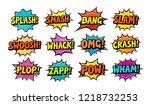 Set Of Comic Speech Bubbles....