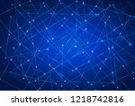 abstract vector background... | Shutterstock .eps vector #1218742816