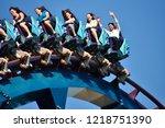 orlando  florida. october 19 ... | Shutterstock . vector #1218751390