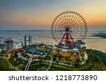 ha long  vietnam   sep 28  2018 ...   Shutterstock . vector #1218773890
