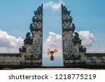 indonesia  bali october 5  2018.... | Shutterstock . vector #1218775219