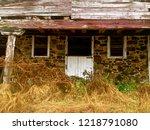 abandoned barn front | Shutterstock . vector #1218791080