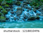 landscape in various places of... | Shutterstock . vector #1218810496