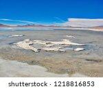 bolivia  salar de uyuni  aguas...   Shutterstock . vector #1218816853