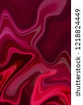 red digital background from...   Shutterstock . vector #1218824449