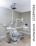 white interior of a dentist... | Shutterstock . vector #121894366