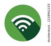 editable wi fi signal vector...   Shutterstock .eps vector #1218961153