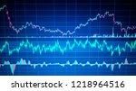 business analyzing financial...   Shutterstock . vector #1218964516