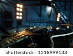 Close Up Electro Guitar...