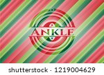 ankle christmas colors style... | Shutterstock .eps vector #1219004629