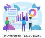 planning  meeting  brainstorm... | Shutterstock .eps vector #1219016260