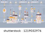 modern vector illustration of... | Shutterstock .eps vector #1219032976