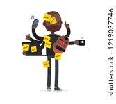 multitask vector illustration | Shutterstock .eps vector #1219037746