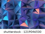 3d abstract background.... | Shutterstock . vector #1219046530