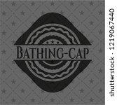 bathing cap dark emblem   Shutterstock .eps vector #1219067440