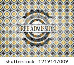free admission arabesque style... | Shutterstock .eps vector #1219147009