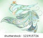 fantastic vector bird...   Shutterstock .eps vector #121915726