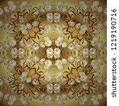 pattern on colors. vector... | Shutterstock .eps vector #1219190716