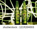 minsk  belarus   october 29 ... | Shutterstock . vector #1219204003