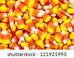 Bright Colored Candy Corn For...