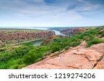 canyon in gandikota  kadapa ...   Shutterstock . vector #1219274206