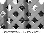 black and white abstract... | Shutterstock . vector #1219274290