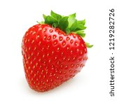 red berry strawberry isolated... | Shutterstock . vector #1219282726