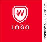 letter w logo concept. designed ...