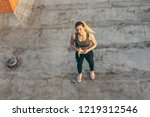 high angle view of a beautiful... | Shutterstock . vector #1219312546