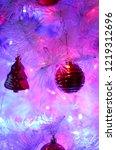 christmas decorations ...   Shutterstock . vector #1219312696