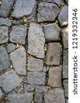 texture with cobble stone ...   Shutterstock . vector #1219332346