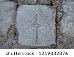 texture with cobble stone ... | Shutterstock . vector #1219332376
